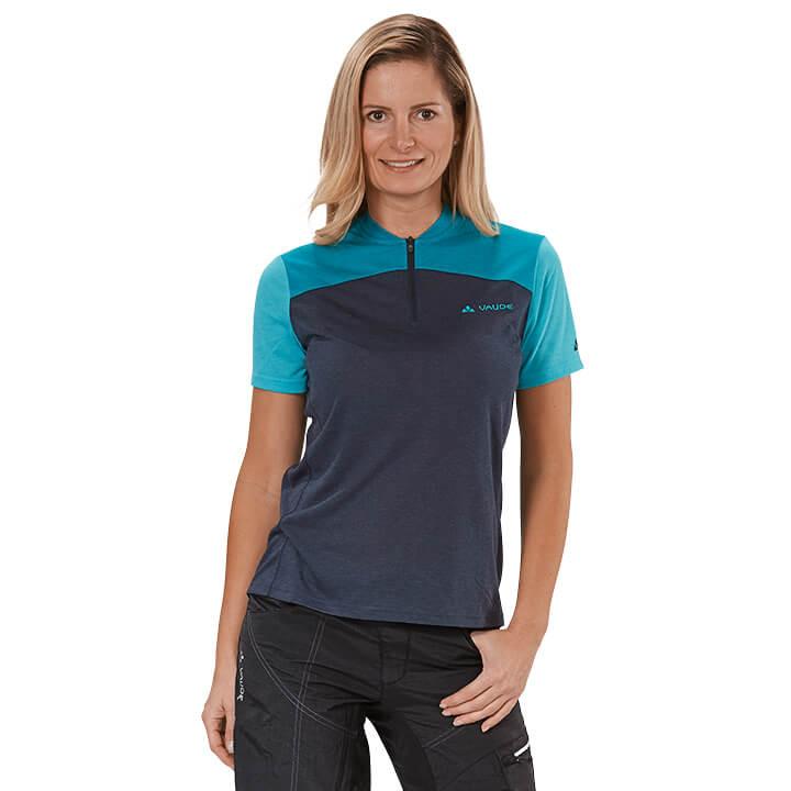 VAUDE dames Tremalzo IV bikeshirt, Maat 36, Fiets shirt,