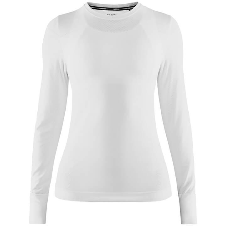 CRAFT dames fietsonderhemd met lange mouwen Fuseknit Comfort, Maat L, Onderhemd,