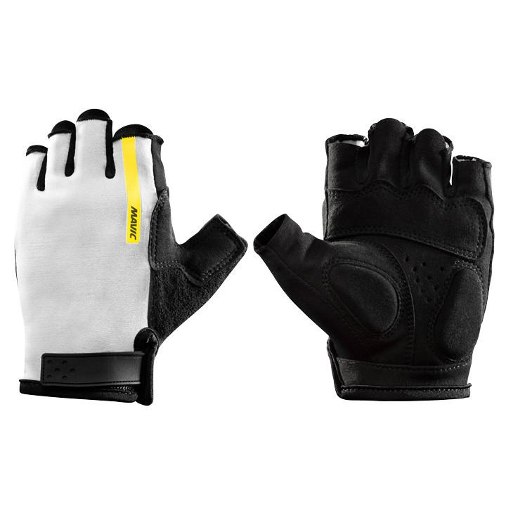 MAVIC dames handschoenen Aksium wit dameshandschoenen, Maat S, Fietshandschoenen