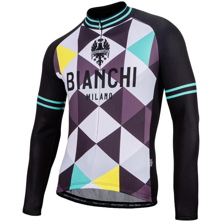 BIANCHI MILANO Shirt met lange mouwen Leggenda fietsshirt met lange mouwen, voor