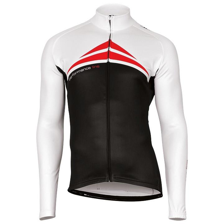 Wielershirt, BOBTEAM Fietsshirt met lange mouwen Performance Line fietsshirt met