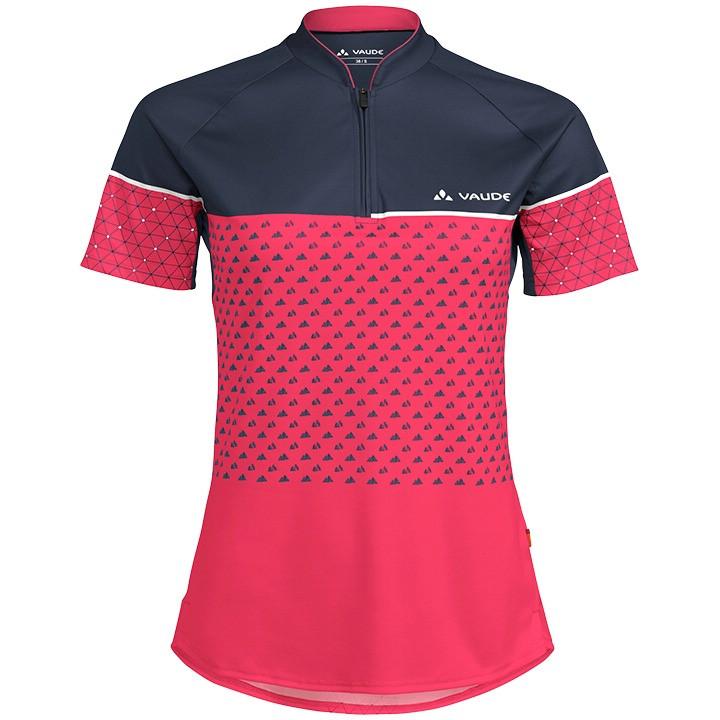 VAUDE Damesfietsshirt Ligure II bikeshirt, Maat 36, Fiets shirt, Wielrenkleding