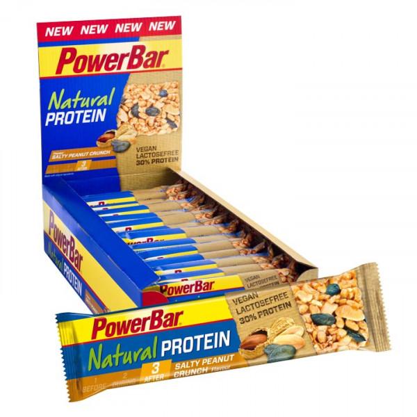 Barre énergétique Natural Protein Salt Peanut