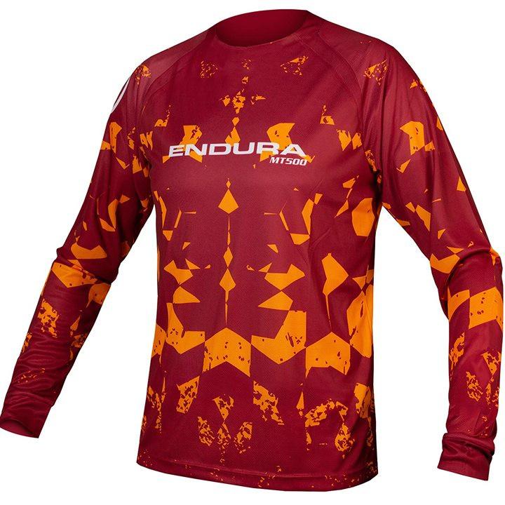 ENDURA Fietsshirt met lange mouwen MT500 Kali LTD bikeshirt, voor heren, Maat L,