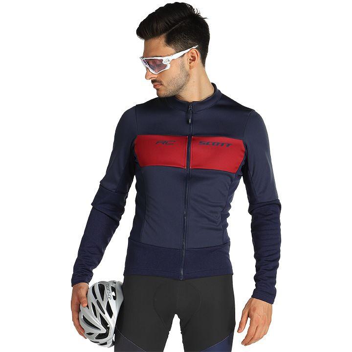 SCOTT RC Warm Hybrid WB Light Jacket, voor heren, Maat M, Fietsjas, Fietskleding