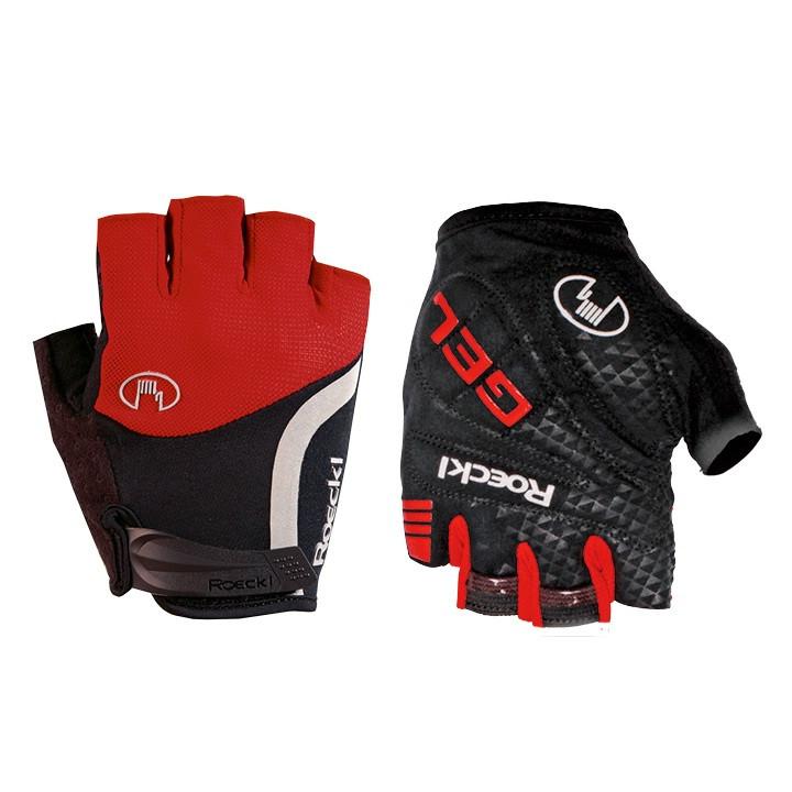 ROECKL fietsIolo, rood handschoenen, voor heren, Maat 7, Fietshandschoenen,