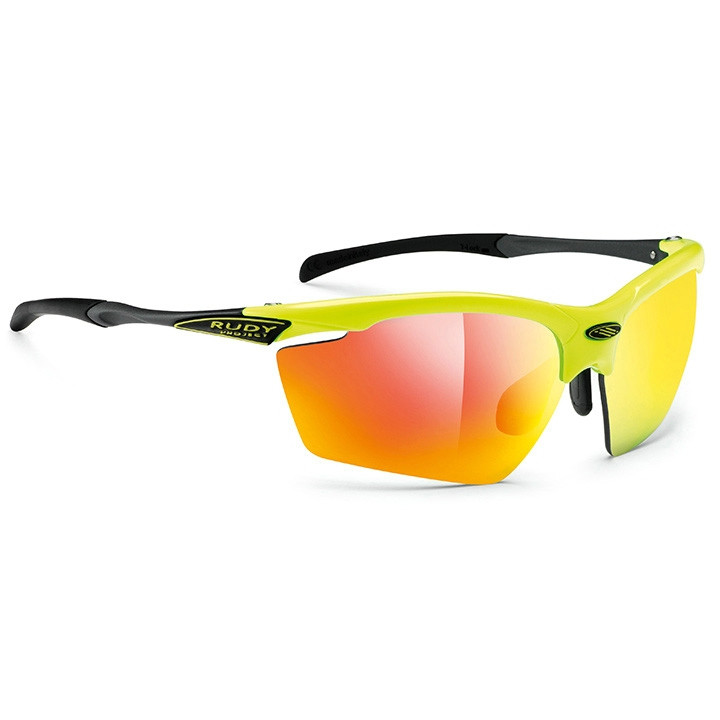 RUDY PROJECT fietsbril Agon 2018 yellow fluo gloss multilaser orange sportbril,