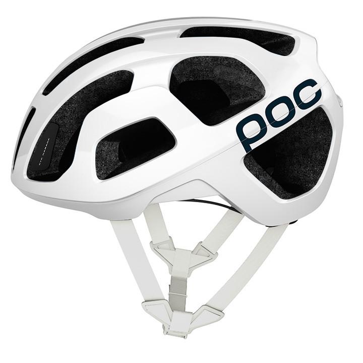 POC race Octal 2020 wit fietshelm, Unisex (dames / heren), Maat M, Fietshelm, Fi