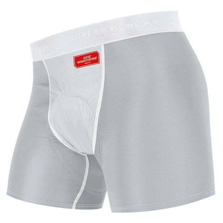 GORE damespanty met zeem Windstopper, lichtgrijs-titanium panty's, Maat 36, Fiet
