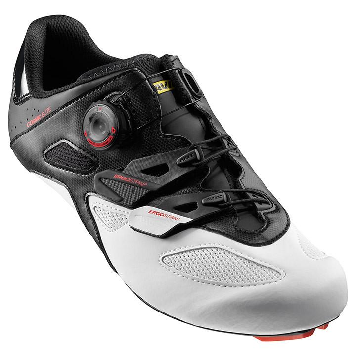 MAVIC racefietsschoenen Cosmic Elite zwart-wit-rood raceschoenen, voor heren, Ma