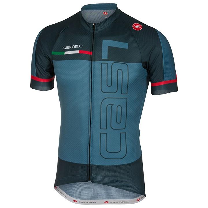 CASTELLI Spunto fietsshirt met korte mouwen, voor heren, Maat S, Wielrenshirt, F