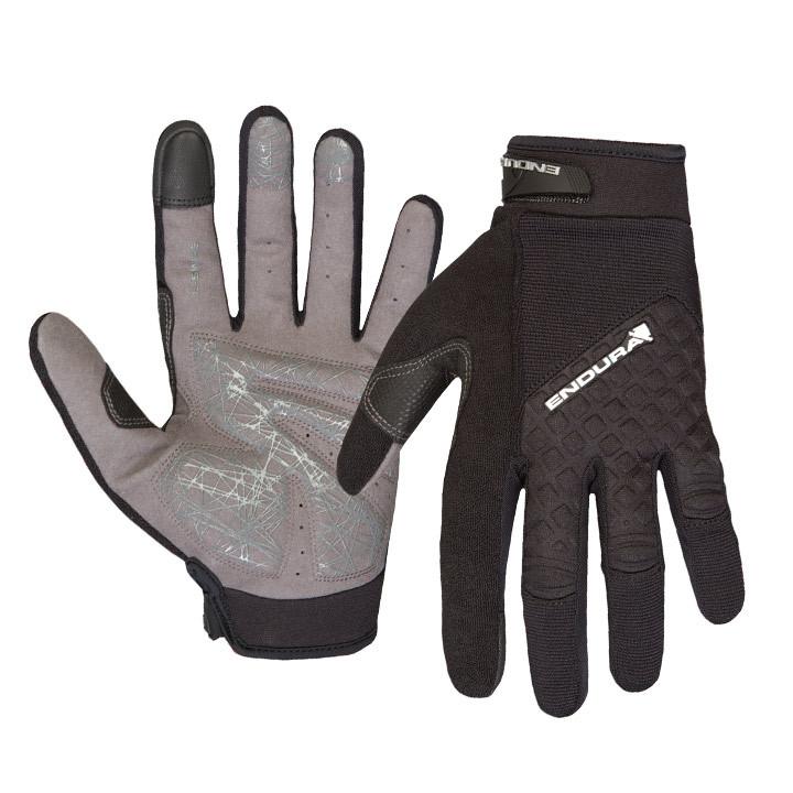 ENDURA langevingerHummvee Plus zwart handschoenen, voor heren, Maat 2XL, Fietsha