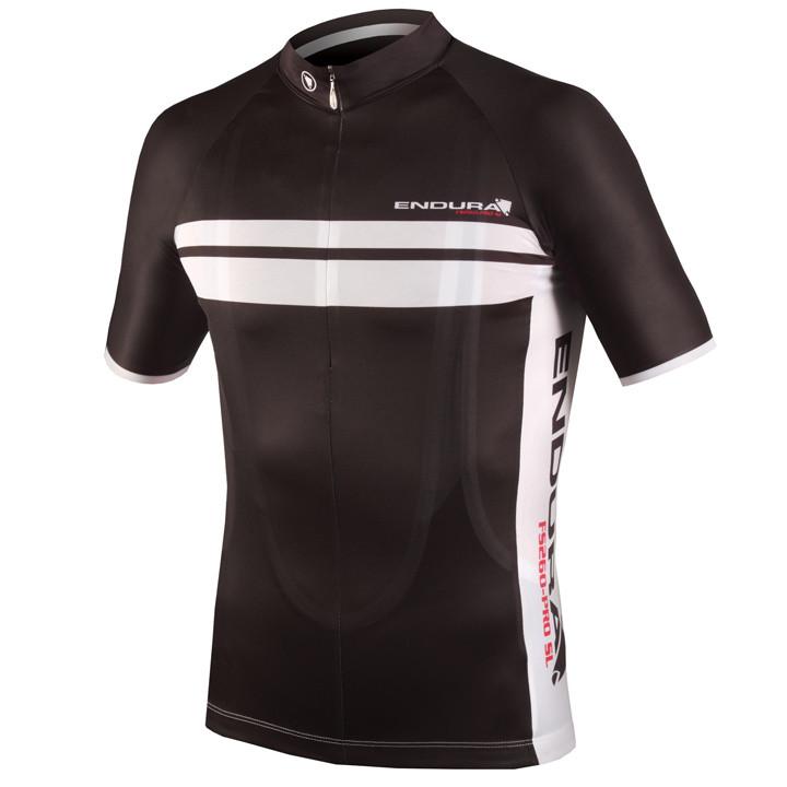 ENDURA PRO SL, zwart fietsshirt met korte mouwen, voor heren, Maat S, Wielrenshi