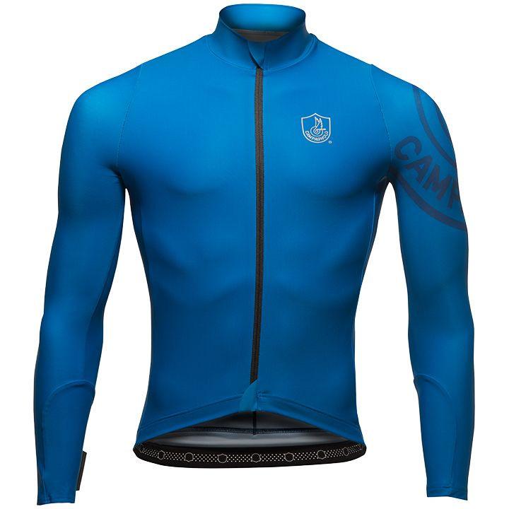 CAMPAGNOLO Shirt met lange mouwen Titanio fietsshirt met lange mouwen, voor here