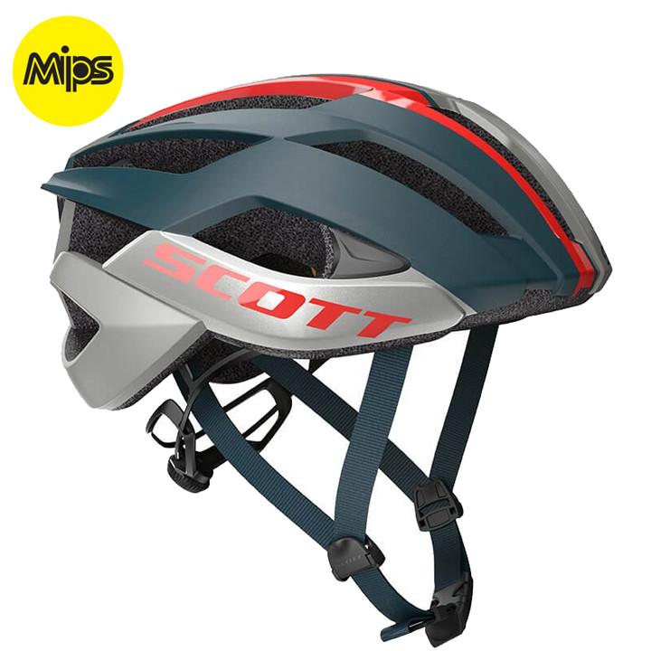 SCOTT RaceArx Plus fietshelm, Unisex (dames / heren), Maat M, Fietshelm, Fietsac