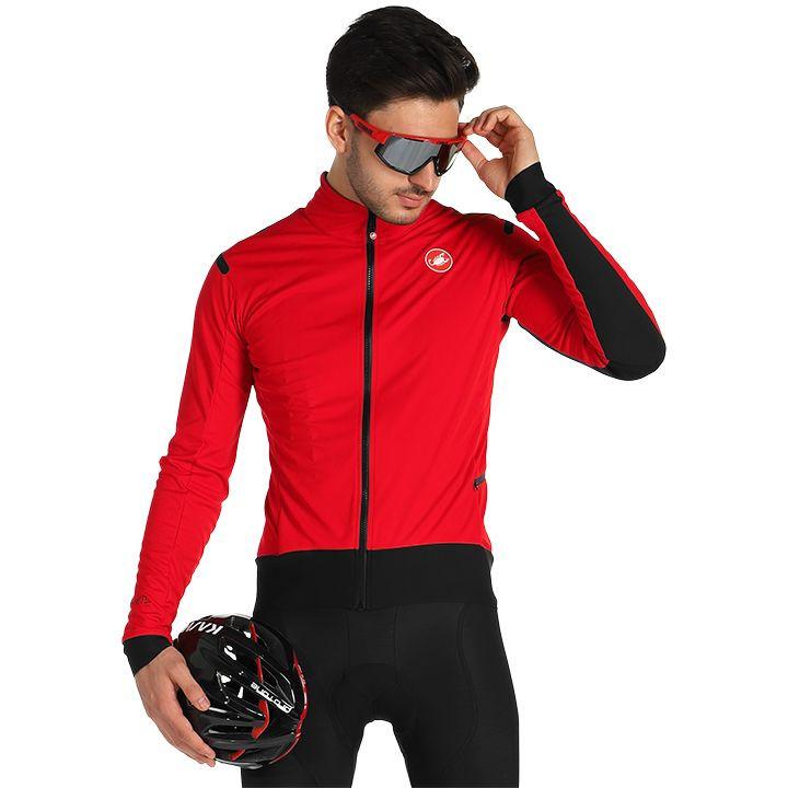 CASTELLI Alpha RoS Light Jacket, voor heren, Maat S, Fiets jas, Fietskledij