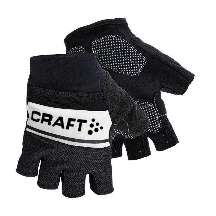 CRAFT Classic zwart-wit handschoenen, voor heren, Maat 2XL, Fietshandschoenen, F