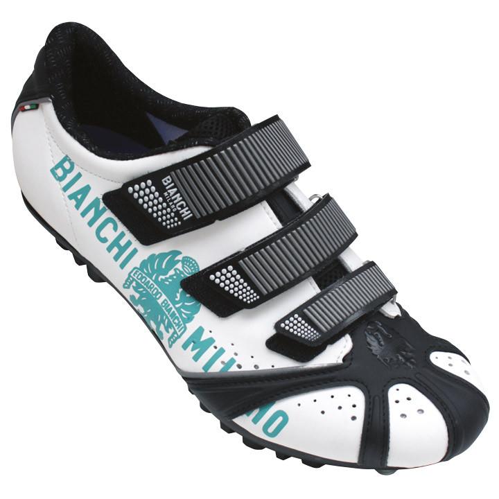BIANCHI MILANO Octopus BM 2018 wit-zwart-celeste MTB-schoenen, voor heren, Maat