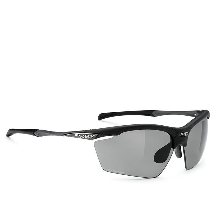 RUDY PROJECT fietsbril Agon matte black sportbril, Unisex (dames / heren), Sport