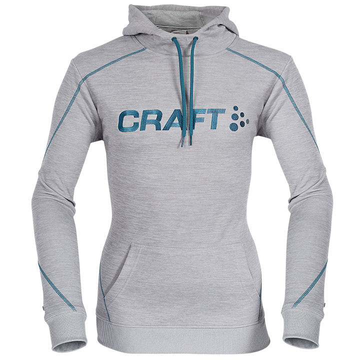 CRAFT Logo Hoody hoody, voor heren, Maat 2XL, MTB shirt, MTB kleding
