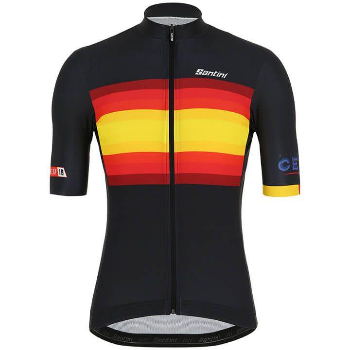 La Vuelta KM Cero 2019 fietsshirt met korte mouwen fietsshirt met korte mouwen,