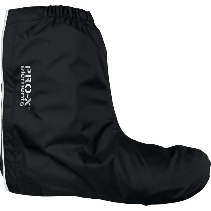 RPO-X Montebelluna, zwart regenoverschoenen, Unisex (dames / heren), Maat L, Fie