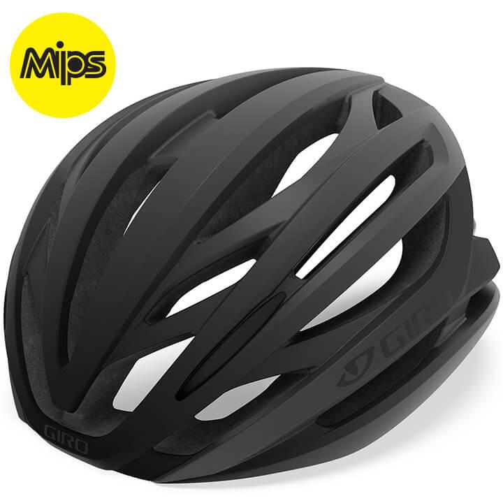 GIRO RaceSyntax Mips 2019 fietshelm, Unisex (dames / heren), Maat M, Fietshelm,