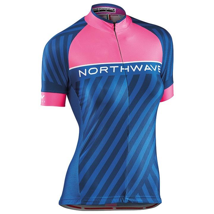 NORTHWAVE damesshirt Logo 3 damesfietsshirt, Maat M, Wielershirt,