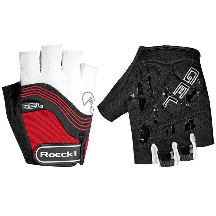 ROECKL Imajo, wit-rood handschoenen, voor heren, Maat 10,5, Fietshandschoenen, F