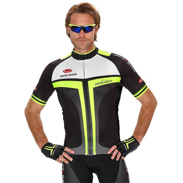 Wielershirt, BOBTEAM Evolution 2.0 fietsshirt met korte mouwen, voor heren, Maat