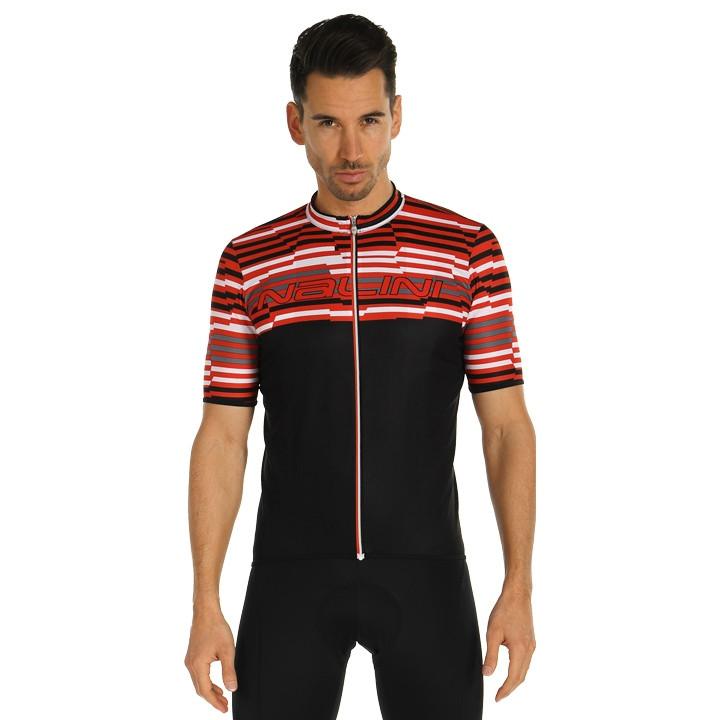 NALINI Fietsshirt Chamonix 1924 fietsshirt met korte mouwen, voor heren, Maat S,