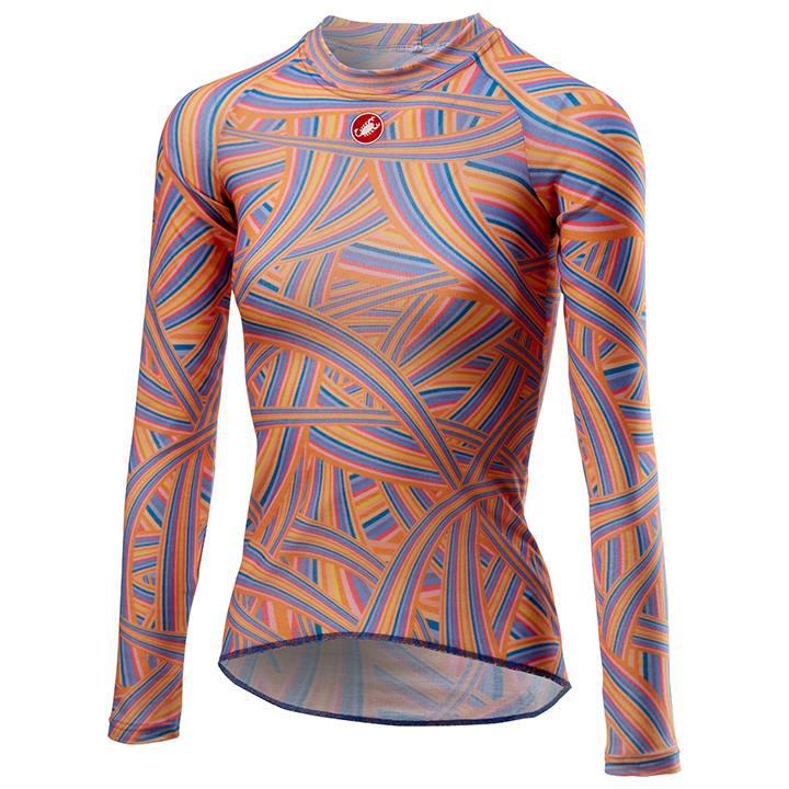 CASTELLI Damesmet lange mouwen Prosecco onderhemd, Maat S, Onderhemd,
