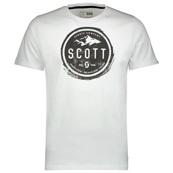 SCOTT T-shirt 20 Casual t-shirt, voor heren, Maat M, MTB shirt, Mountainbike