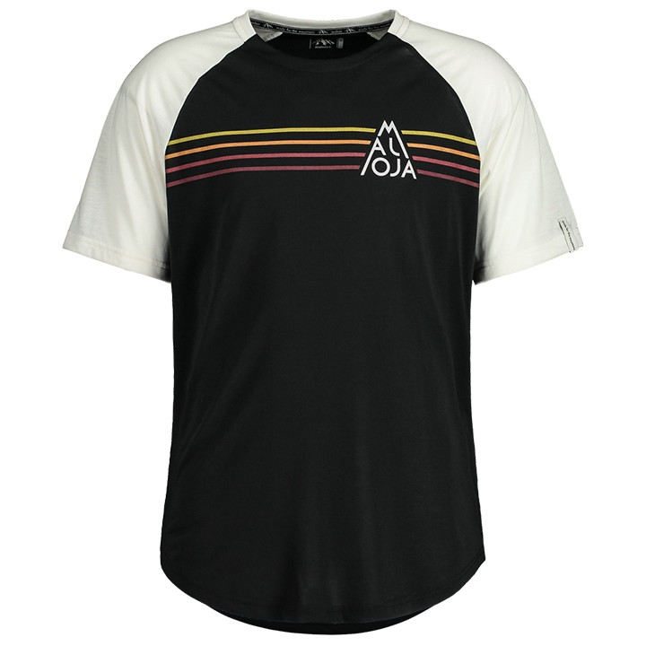 MALOJA Fietsshirt AlmenM. bikeshirt, voor heren, Maat S, Wielrenshirt, Fietskled