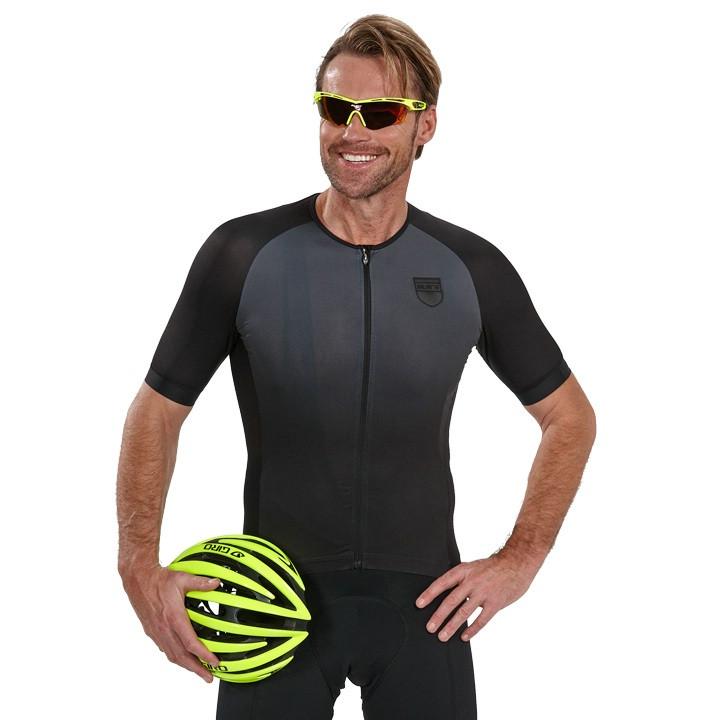 NALINI PRO shirt met korte mouwen Crit zwart fietsshirt met korte mouwen, voor