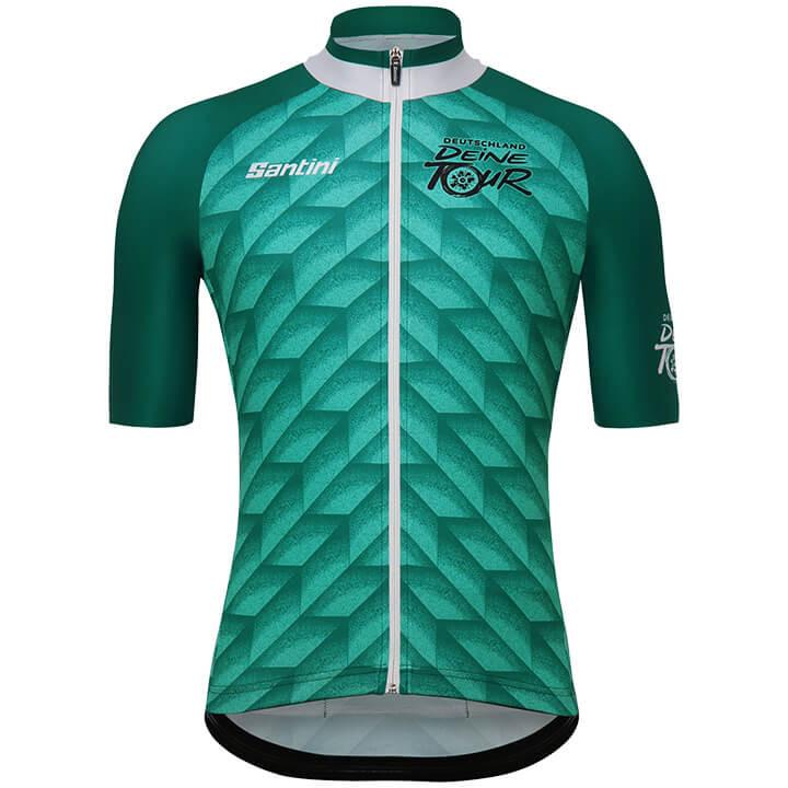 DEUTSCHLAND TOUR 2018 fietsshirt met korte mouwen fietsshirt met korte mouwen, v