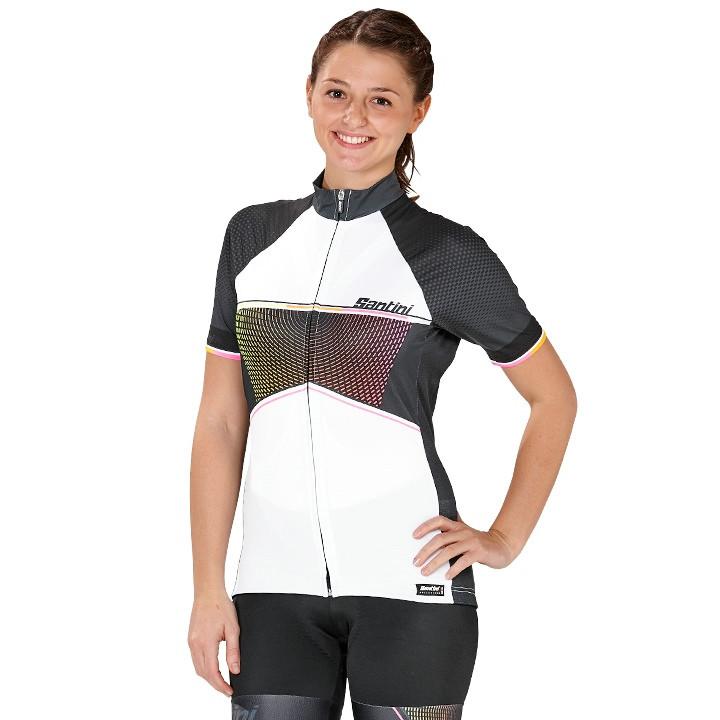 SANTINI Damesshirt Stella damesfietsshirt, Maat XL, Wielershirt,
