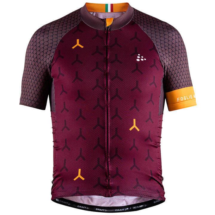 Craft MONUMENTS GDL Foglie Morte 2018 fietsshirt met korte mouwen fietsshirt met