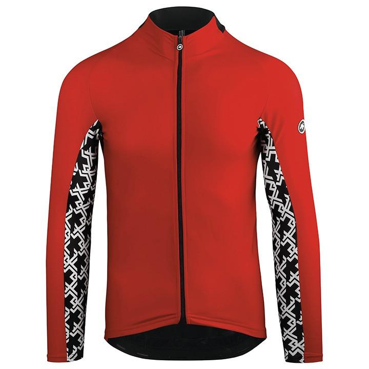 ASSOS Shirtjack Mille GT nationalRed shirtjack, voor heren, Maat 2XL,