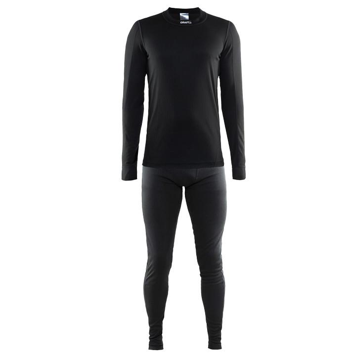 CRAFT ondergoed set Active Multi 2-pack zwart, voor heren, Maat L, Onderhemd, Wi