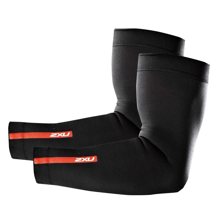 2XU Compression zwart armstukken, voor heren, Maat XL, Armwarmer, Wielerkleding