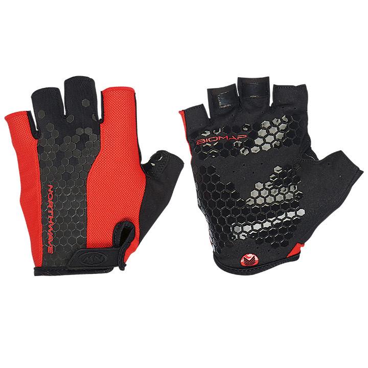 NORTHWAVE Grip zwart-rood handschoenen, voor heren, Maat XL, Fietshandschoenen,