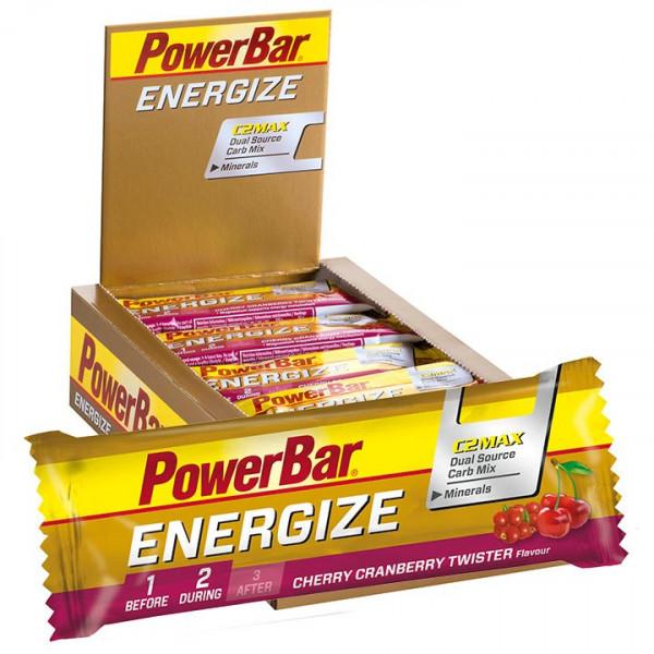 Barre énergétique Energize Cherry Cranberry