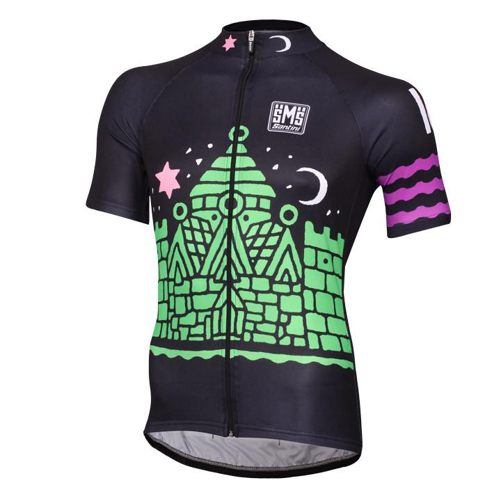 EUROPEAN CM CHAMPION COPENHAGEN 2016 fietsshirt met korte mouwen, voor heren, Ma