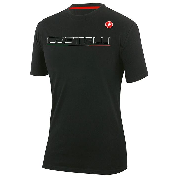 CASTELLI T-shirt Classic t-shirt, voor heren, Maat S, MTB shirt, Mountainbike