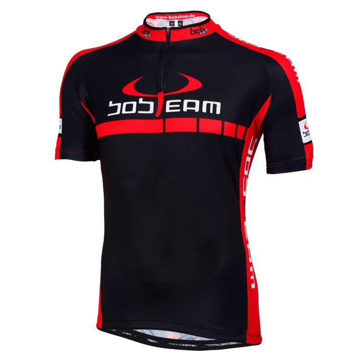 Fietsshirt, BOBTEAM Colors fietsshirt met korte mouwen, voor heren, Maat M, Fiet