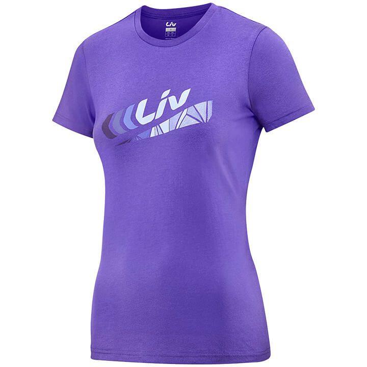 LIV Dames T-shirt Brand, Maat XL, MTB shirt, MTB kleding