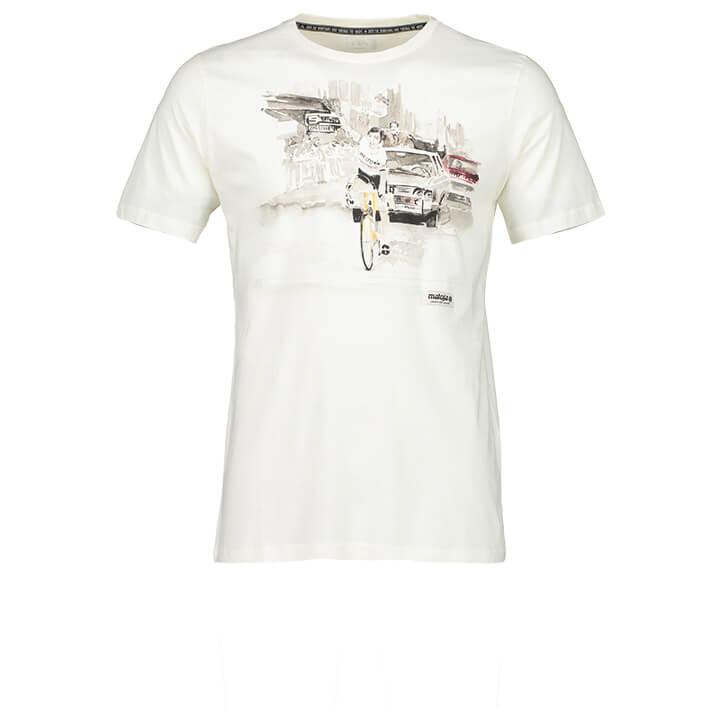 MALOJA T-shirt PeiderM. t-shirt, voor heren, Maat L, MTB shirt, Mountainbike