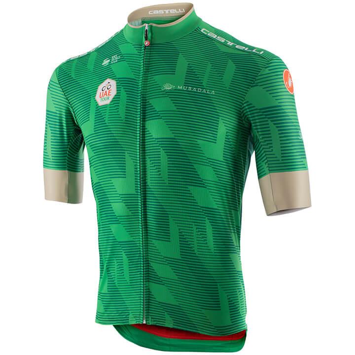 UAE TOUR fietsshirt met korte mouwen 2020, voor heren, Maat XL, Wielrenshirt, Fi