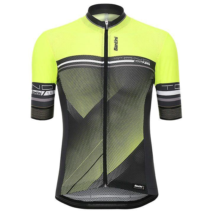 SANTINI shirt met korte mouwen Tono fietsshirt met korte mouwen, voor heren, Maa